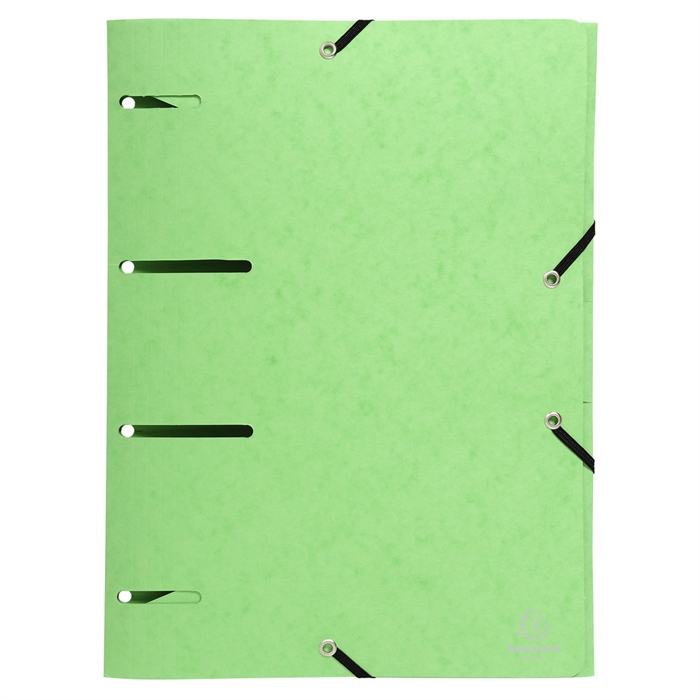 Pack of 6 Elasticated Folders Punchy+ 375g Assorted., Picture 10