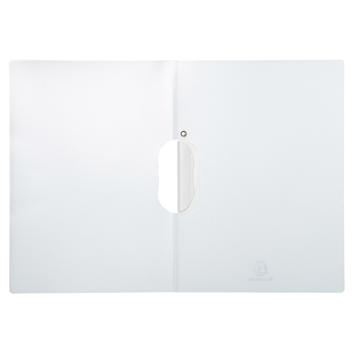 EXACOMPTA 47610E - Presentation Clip Folder White, Picture 3