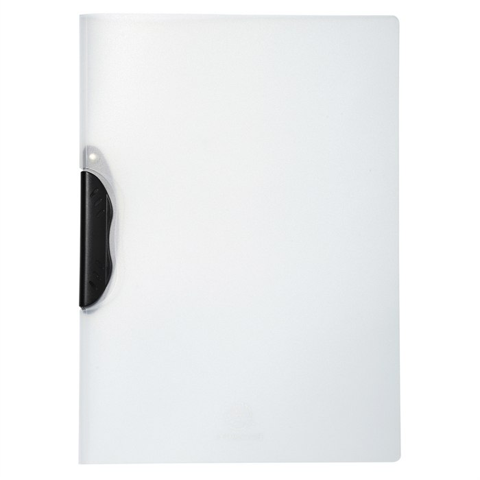 Picture of EXACOMPTA 47611E - Presentation Clip Folder White