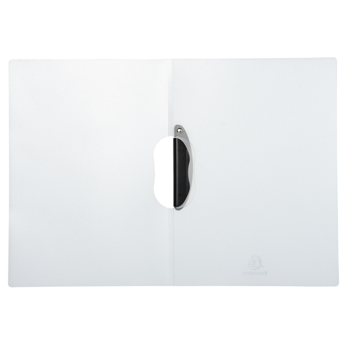 EXACOMPTA 47611E - Presentation Clip Folder White, Picture 3