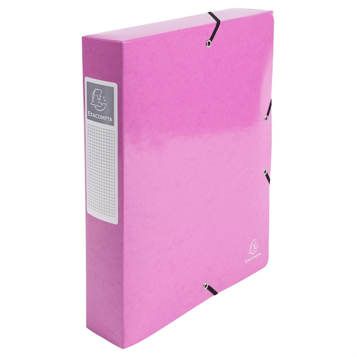 Picture of EXACOMPTA 50624E - Elasticated Box File Iderama A4 S60 mm