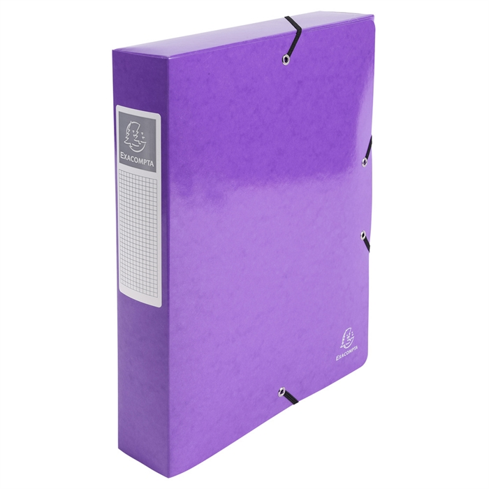 Picture of Elasticated Box File Iderama A4 S60mm.