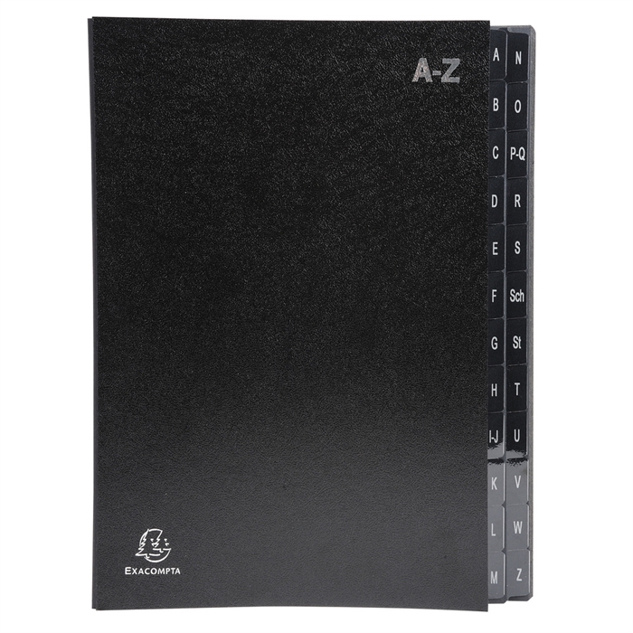 "Picture of ""Multipart File Econony A,Z Black""."