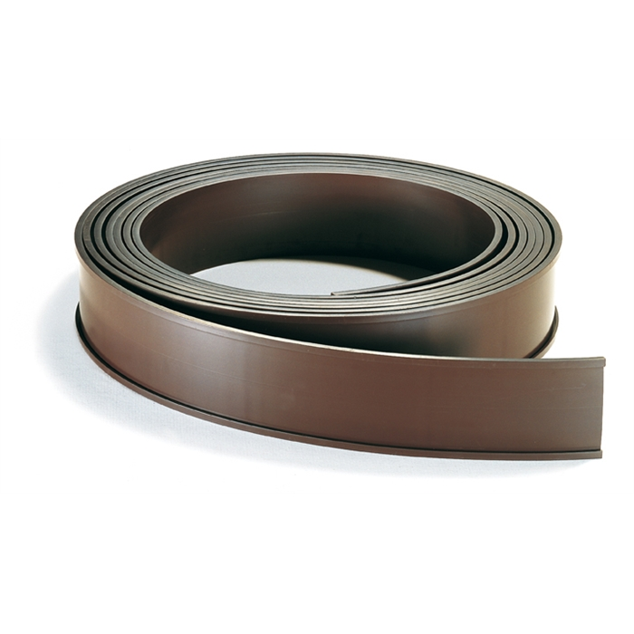 Picture of Store Labels/Magnetic C-profiles, 1000 x 15 mm, brown
