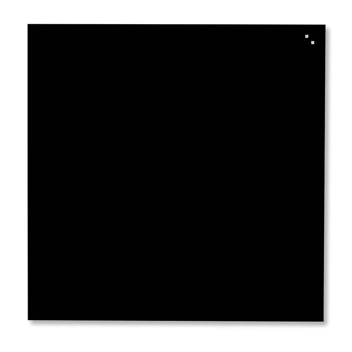Picture of Magnetic Glass Board, Dimensions: 35 x 35 cm. Color: black