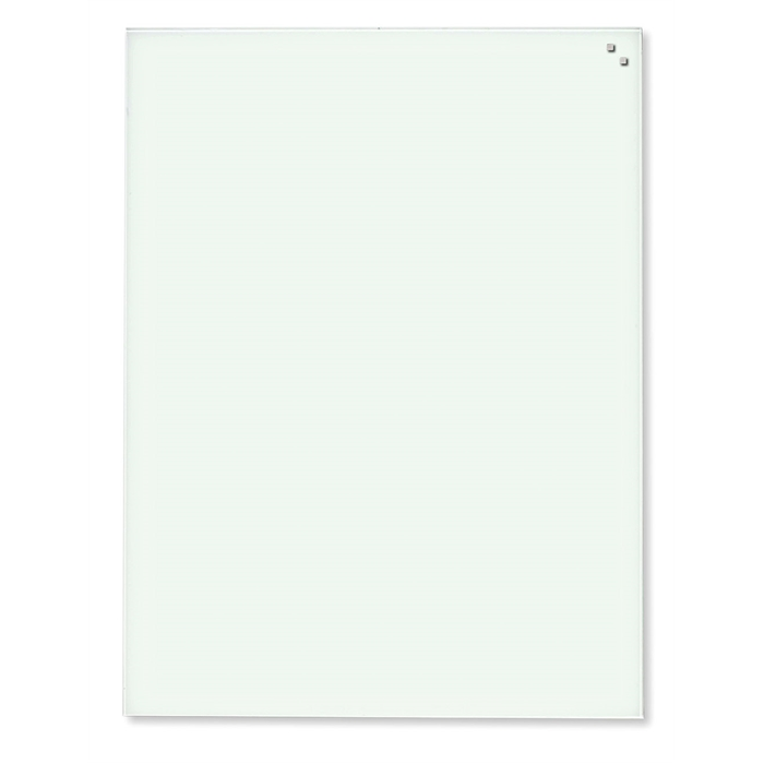 Picture of Magnetic Glass Board, Dimensions: 40 x 60 cm. Color: white