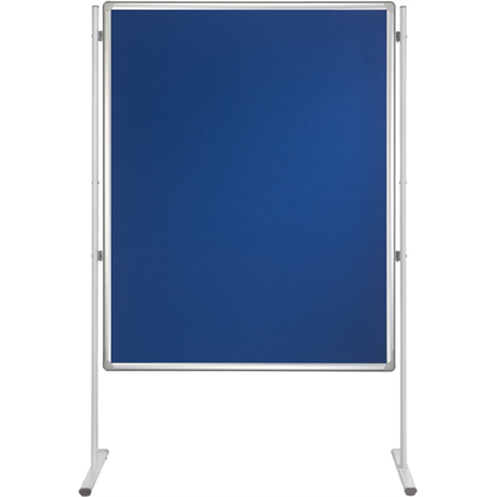 Picture of Partition Walls double sided PRO, 120 x 90 cm, Lacquered & Felt, blue
