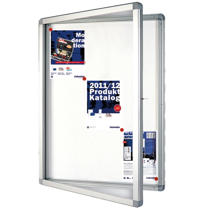 Picture of ECO Outdoor Display Cases, 15 x A4, 117.5 x 99 x 4.5 cm, magnetic