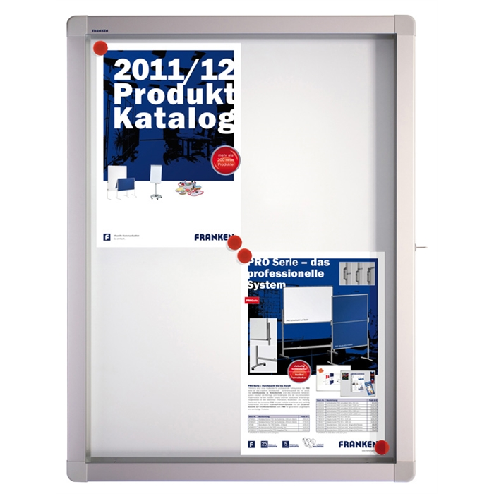 Picture of ECO Outdoor Display Cases, 4 x A4, 53 x 70.4 x 4.5 cm, magnetic