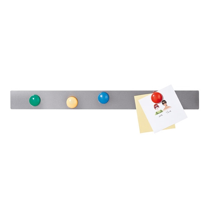 Picture of Magnetic Rails, 50 x 5 cm, stainless steel, pack 10