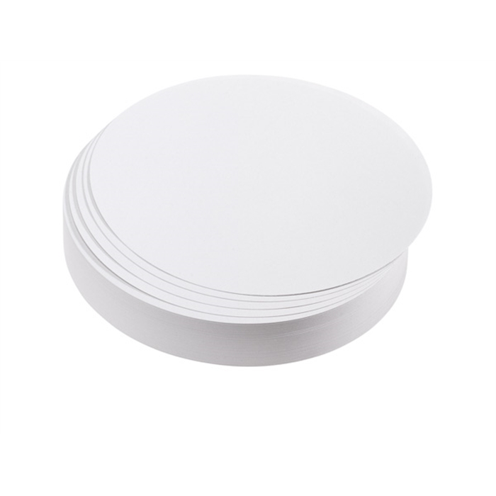 Picture of Training cards, circles, 9.5 cm dia., white, 500 pieces