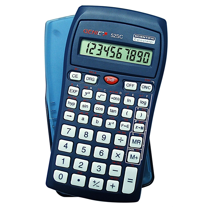 Picture of GENIE 52SC - Scientific calculator Single line display 136 functions Blister