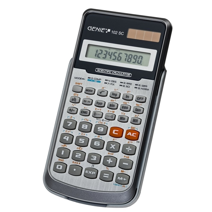 Picture of GENIE 102SC - Scientific calculator Single line display 139 functions Blister