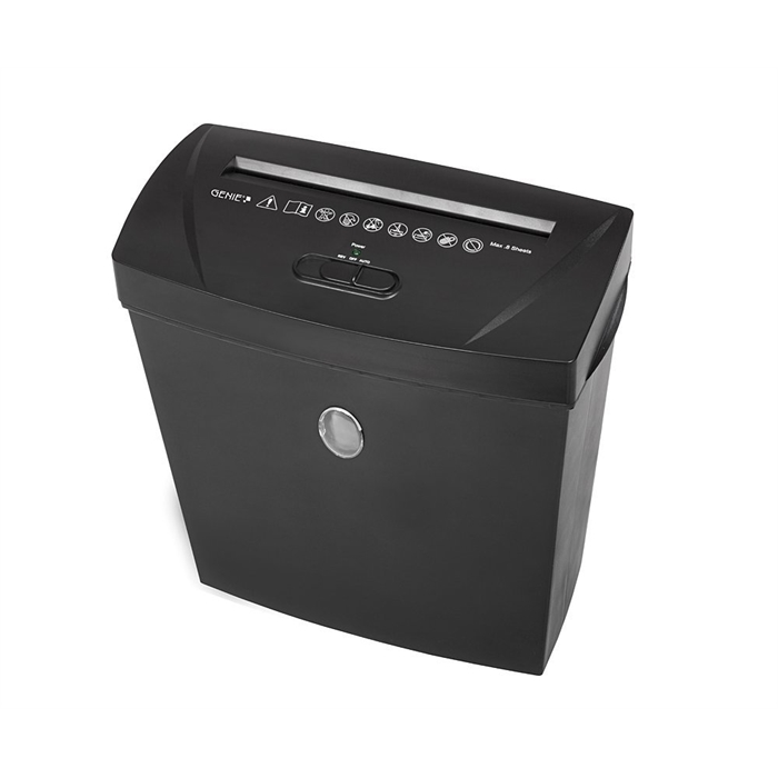 Picture of GENIE 180X - Paper shredder Cross-cut 13L P3 Till 8 pages Black