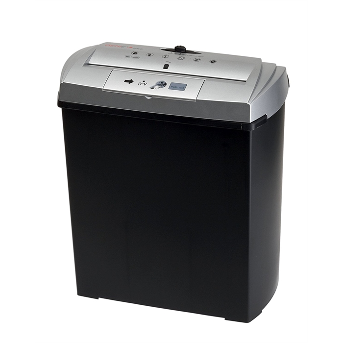 Picture of GENIE 250CD - Paper shredder Strip-cut 13L P1 Till 7 pages Black