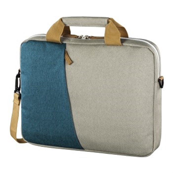 Picture of Florenz Notebook Bag, up to 44 cm (17.3), petrol/grey