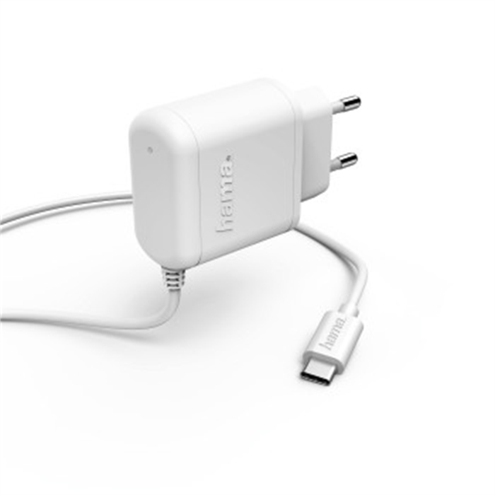 Picture of Charger, USB Type-C, 3 A, white