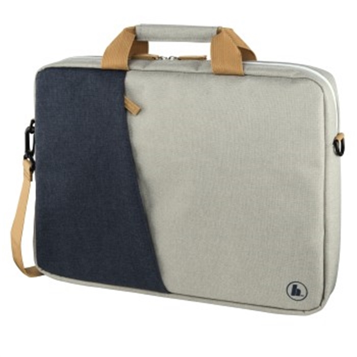 Picture of Florence Notebook Bag, up to 34 cm (13.3), marine blue / light grey