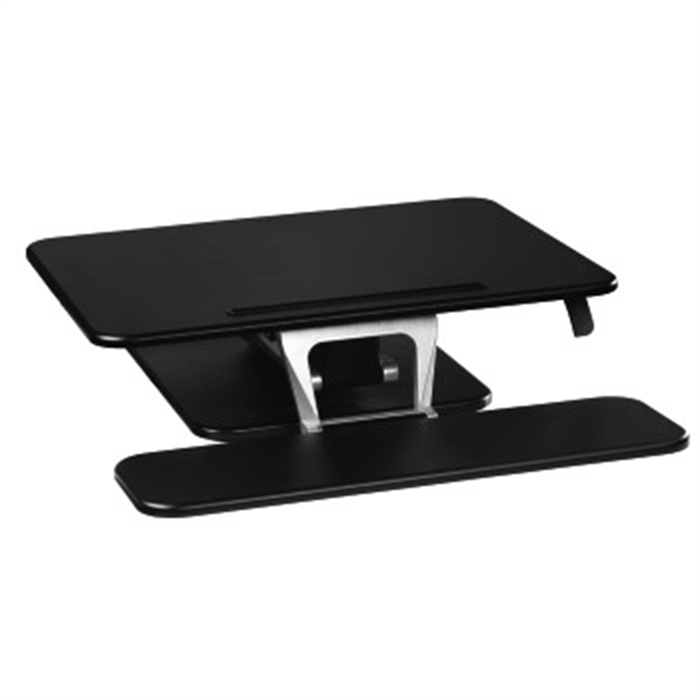Picture of Booster for Sitting/Standing Workstation, S (68.0 x 52.0), black / Desk Pad