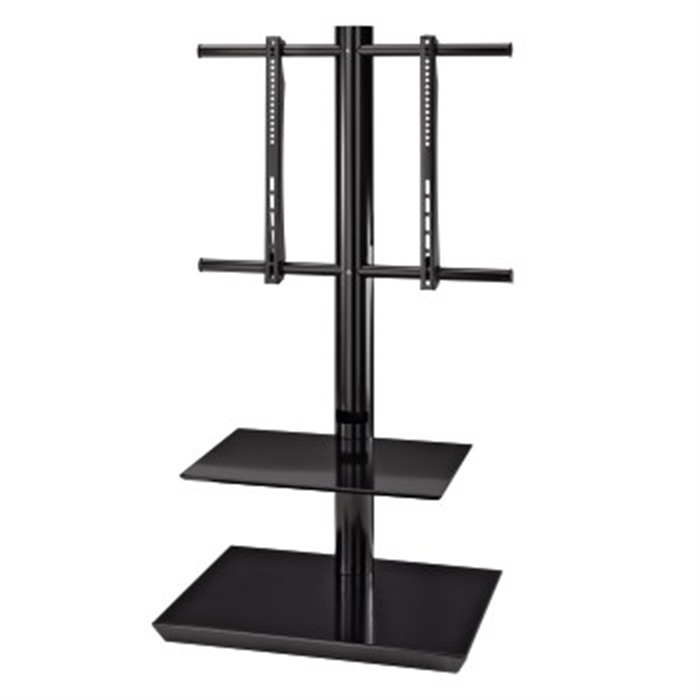 Picture of TV Stand, 1160 mm, 2 shelves, black / TV Rack