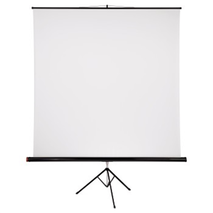 Picture of Tripod Projection Screen, 200 x 200 cm, 1:1, white / Tripod Projection Screen