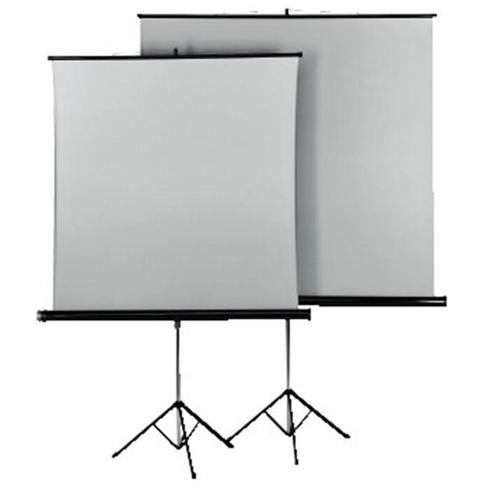 Picture of Tripod Projection Screen, 125 x 125 cm, Duo / Tripod Projection Screen
