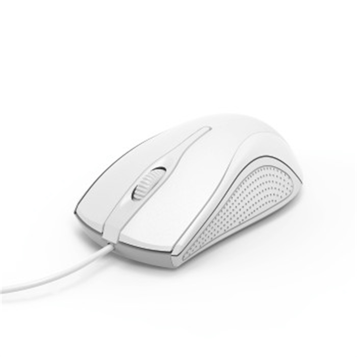 Picture of MC-200 Optical 3-Button Mouse, Cabled, white / Mouse