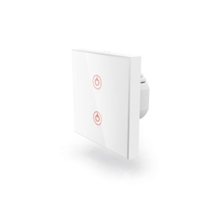 Picture of WiFi Touch Wall Switch, Flush-mounted, white
