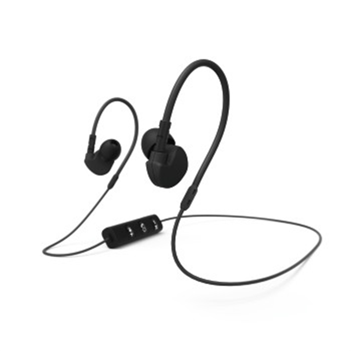Afbeelding van Clip-On sport earphones Run BT zwart , / Bluetooth-Headset