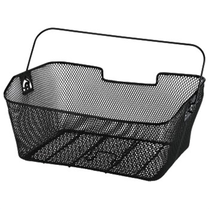 Picture of Bicycle Basket for Luggage Carrier, black / Bike Basket
