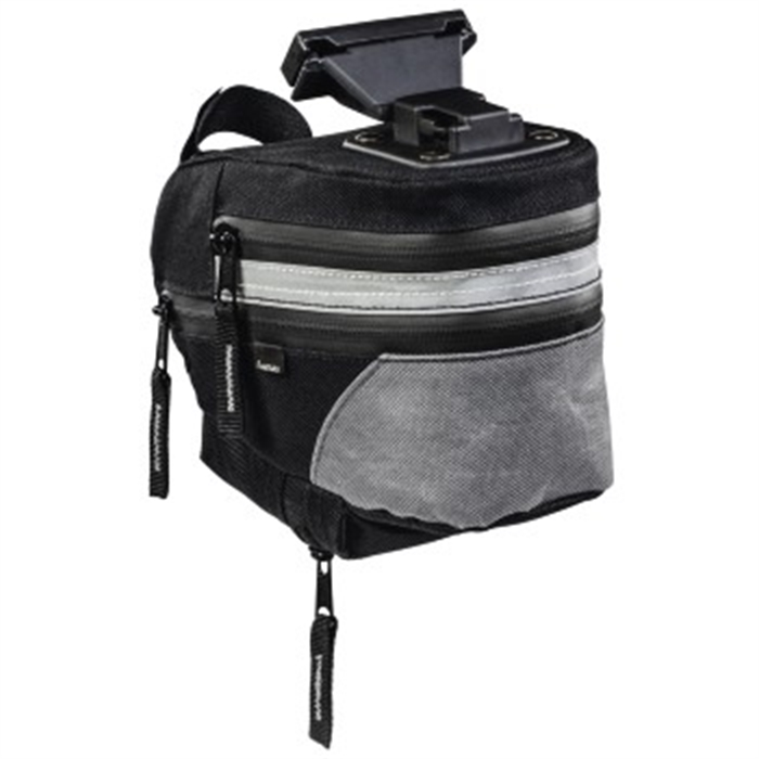 Picture of Bicycle Saddlebag, black / Bike Bag