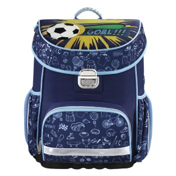 Picture of HAMA 139069 - School bag Soccer, Blue