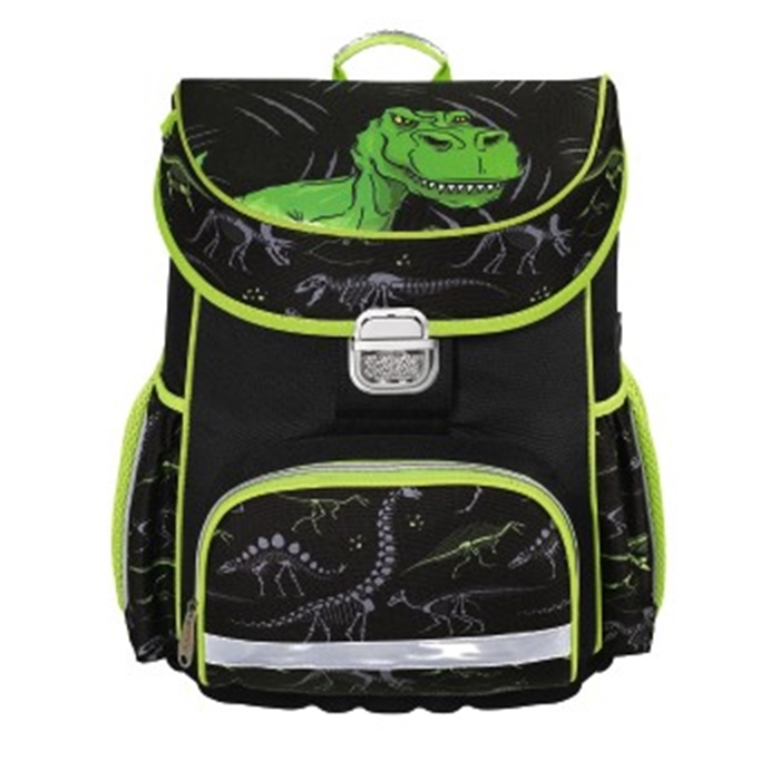 Picture of HAMA 139074 - School bag Dino, Black