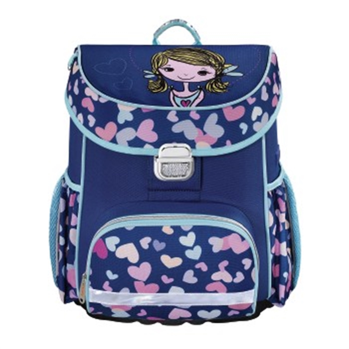 Picture of HAMA 139078 - School bag Lovely Girl, Purple/pink