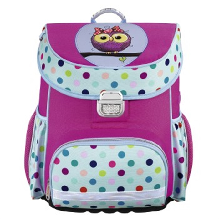 Picture of HAMA 139080 - School bag Sweet Owl, Blue/pink
