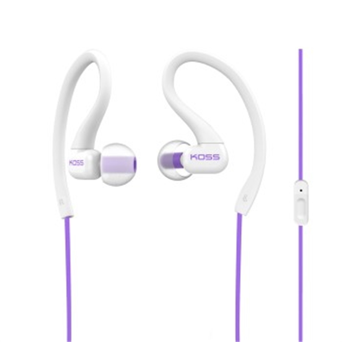 Picture of Stereo InEar Headset FitClips KSC32iV with Microphone, violet