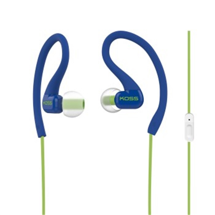 Picture of Stereo InEar Headset FitClips KSC32iB with Microphone, blue