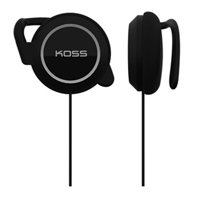 Picture of Clip-On Stereo Headphones KSC21, Black