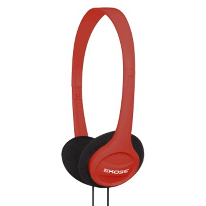 Picture of KPH7 On-Ear Headphones, red