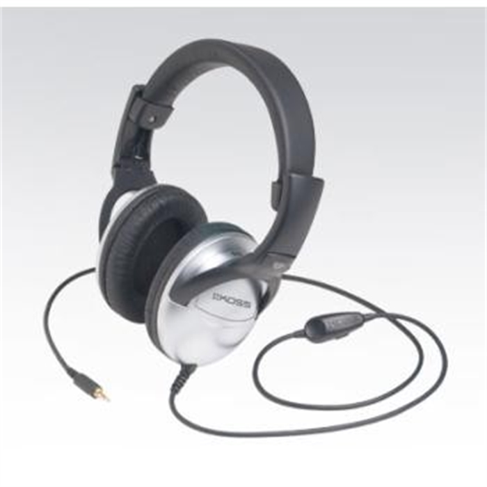 Picture of Stereo OverEar Headphone QZ/PRO, Black/Silver