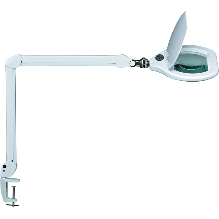 Picture of MAUL 8266002 - MAULcrystal LED magnifying lamp, dimmable, White