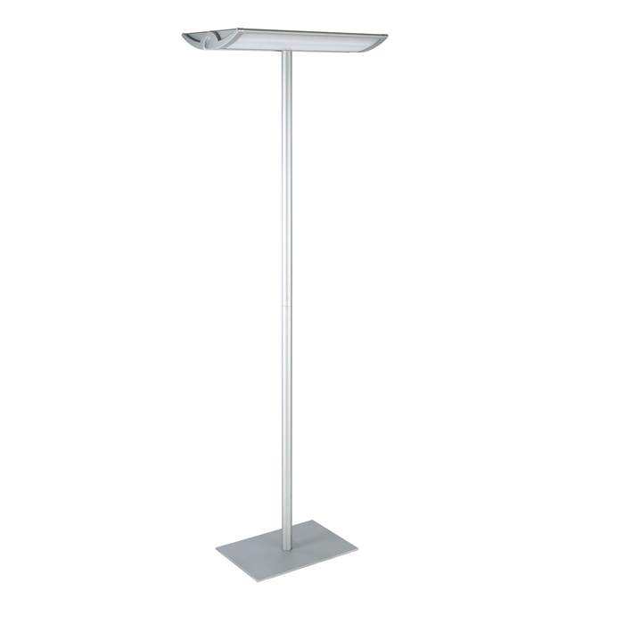 Picture of Work Station Uplighter,  MAULaludra - silver