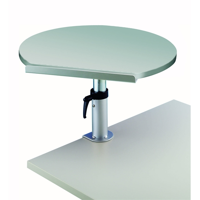 Picture of Ergonomic Table Lectern Clamp base, 30kg - grey