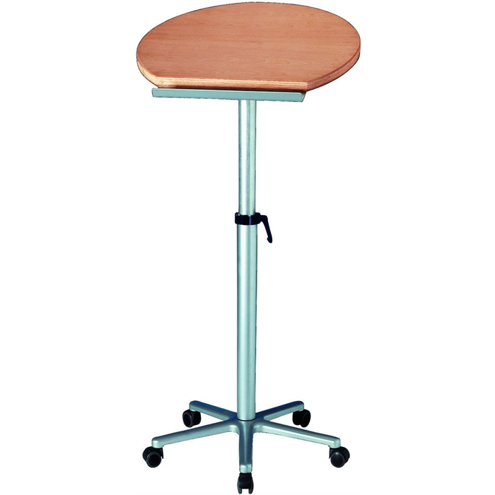 Picture of Ergonomic Table Lectern, Beech Melamin coated Resin Platform