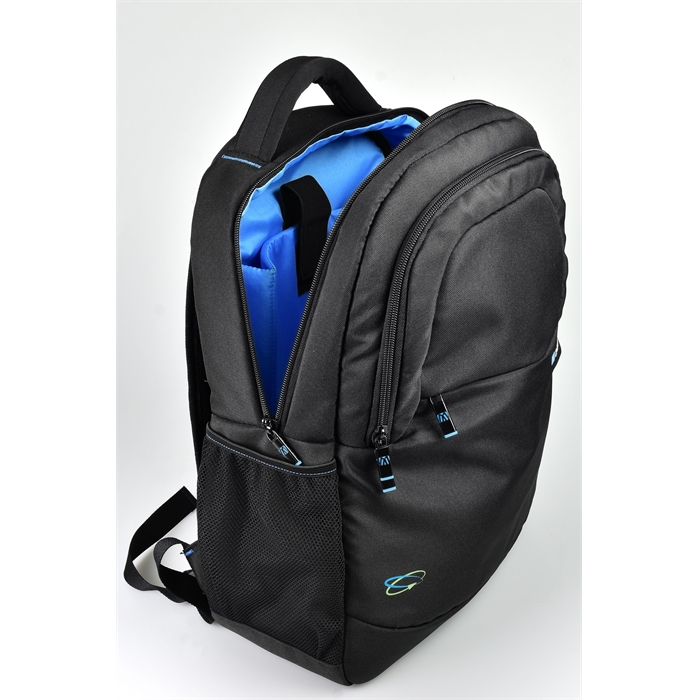 "Picture of MONOLITH 2000003312 - Laptop Backpack 15.6"" Blue Line (made out of receycelt PET bottles)"
