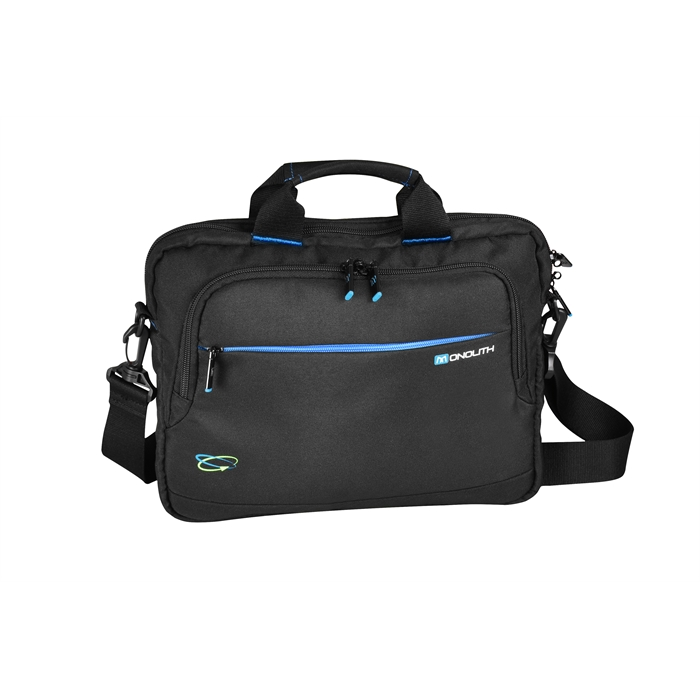 "Picture of MONOLITH 2000003316 - Slim Laptop Case 17"" Blue Line (made out of receycelt PET bottles)"