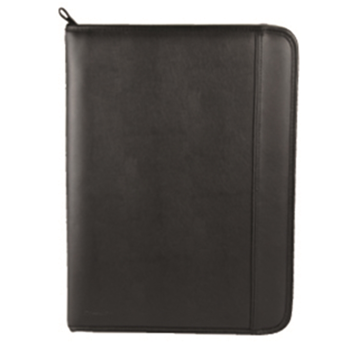 Picture of MONOLITH 2000002795 - Conference folder with ring binder, Black 38x26x2 cm