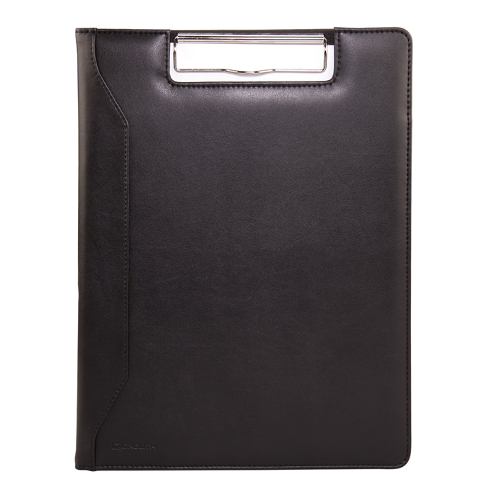 Picture of MONOLITH 2000002801 - Conference folder with clipboard, Black 32x24x2 cm