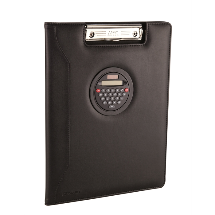 Picture of MONOLITH 2000002917 - Conference folder with clipboard, Black 32x25x2 cm