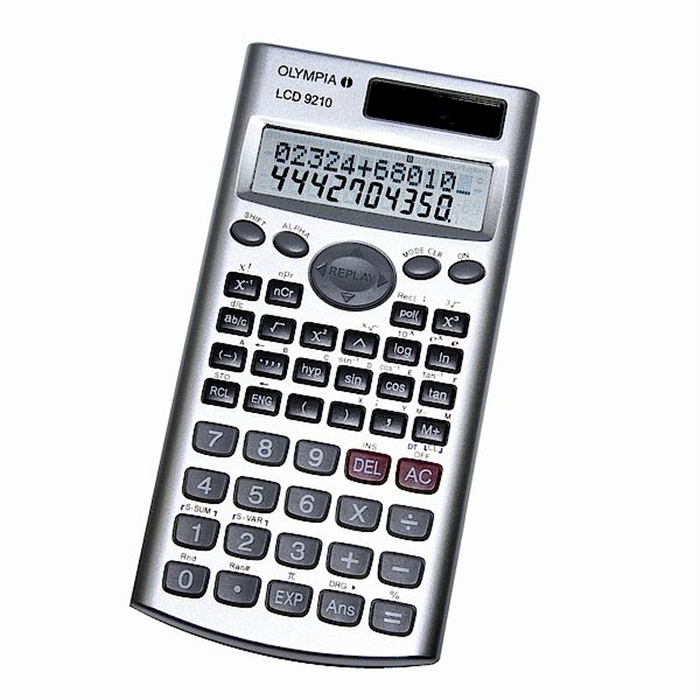 Picture of OLYMPIA LCD9210 - Scientific calculator Display with 2 lines